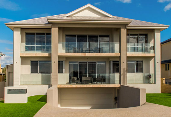 Large Three Storey Ocean Front Home