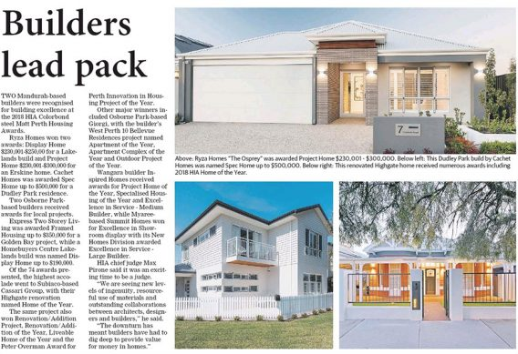 Mandurah Custom Home Builders Success